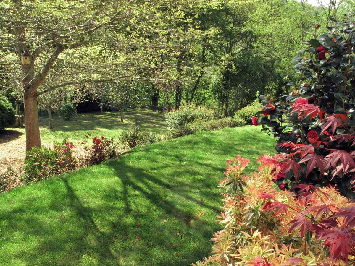 Jardin de la maison Izar ona